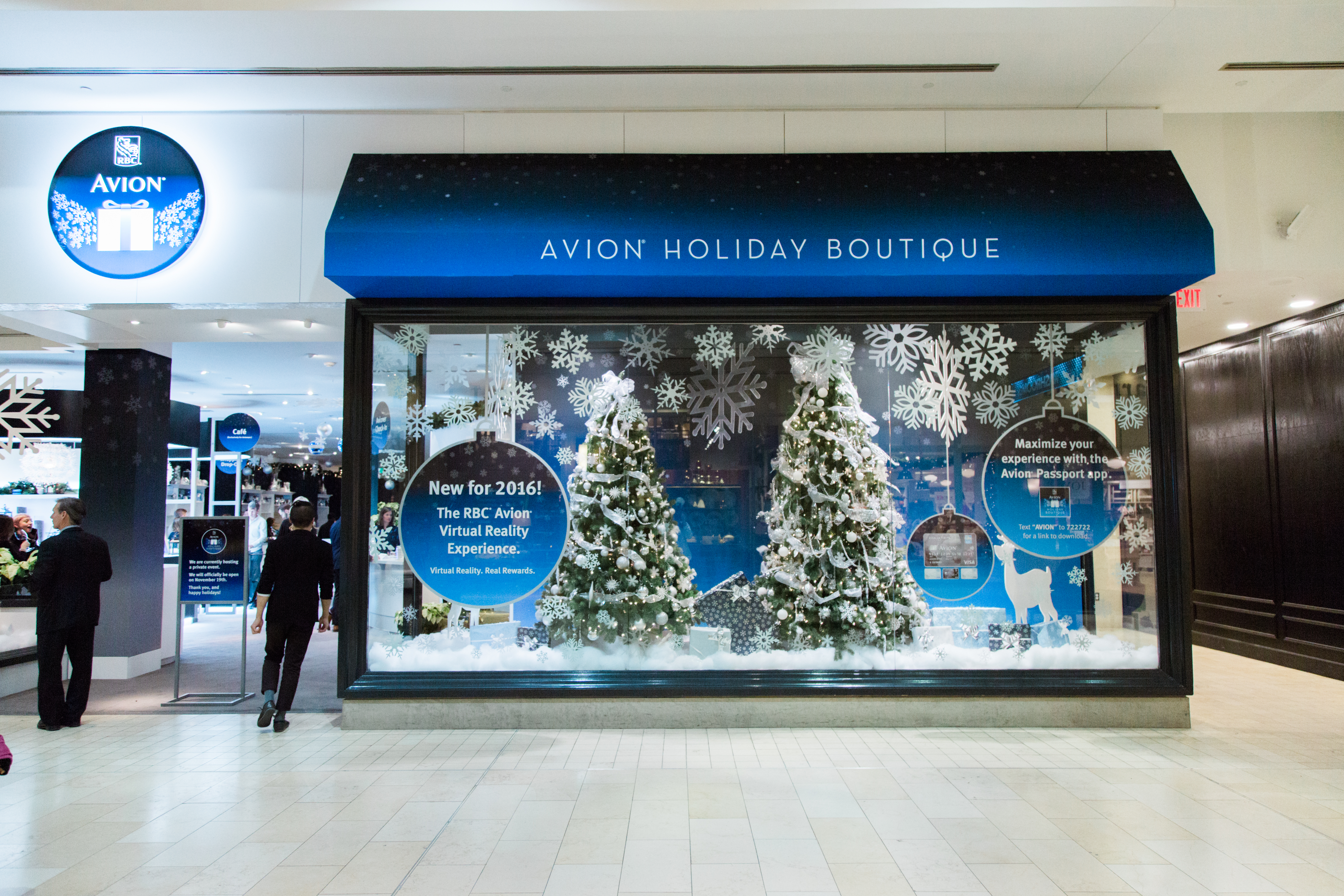 The Avion Holiday Boutique at Yorkdale Shopping Centre